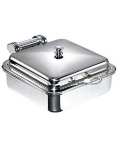 Square Induction Chafer & Stainless Steel Insert