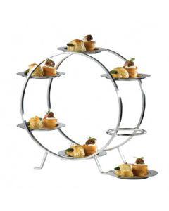 Steel Ferris Wheel Cake Stand