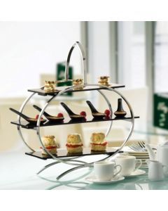 Steel & Acrylic Tiered Cake Stands
