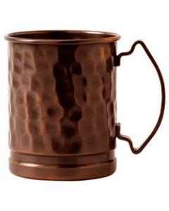 Antique Copper Hammered Mug 17oz