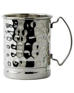 Hammered Stainless Steel Mug 17oz