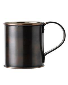 Antique Copper Mug With Nickel Lining 12.75oz