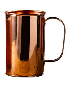 Copper Water Pitcher with Nickel Lining 1.9 Litre