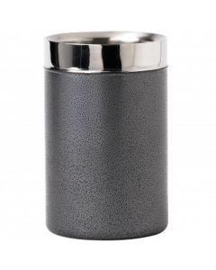 Powder Coated Wine Bottle Holder Grey