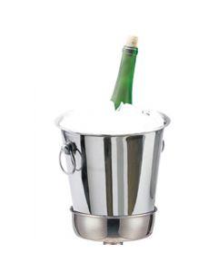 4Qt. Stainless Steel Wine  Ice Bucket