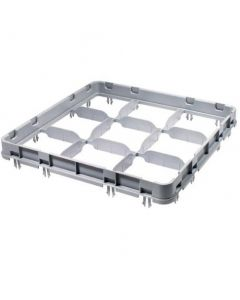 9 Compartment Rack 1 Extender Grey (500 x 500mm)