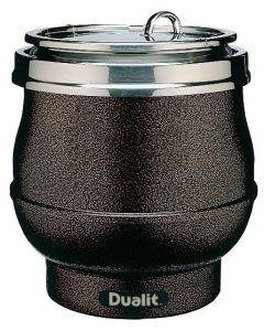 Dualit 11 Litre Brown Cauldron Hotpot Soup Kettle