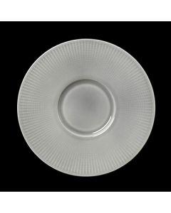 "Steelite Willow Gourmet Plate Small Well 11.25"" Mist"
