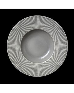 "Steelite Willow Gourmet Deep Rimmed Bowl 11"" Mist"