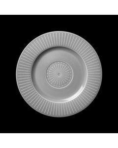 """Steelite Willow Gourmet Plate Accent 7.25"""" Mist"""