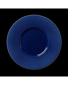 "Steelite Willow Gourmet Plate Medium Well 11.25"" Azure"