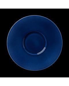 "Steelite Willow Gourmet Plate Small Well 11.25"" Azure"
