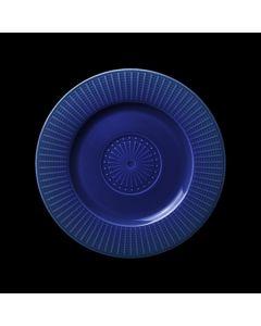 "Steelite Willow Gourmet Plate Accent 7.25"" Azure"
