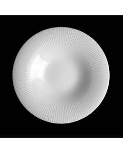 Steelite Willow Gourmet Rimmed Coupe Bowl 31.3oz White