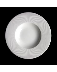 Steelite Willow Gormet Deep Rimmed Bowl 33.4oz White