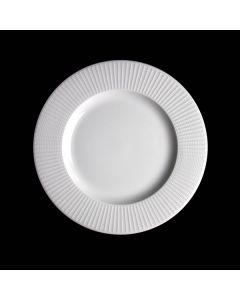"Steelite Willow Mid Rim Plate 9"" White"