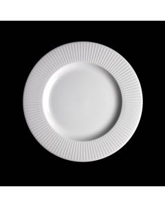 "Steelite Willow Mid Rim Plate 8"" White"