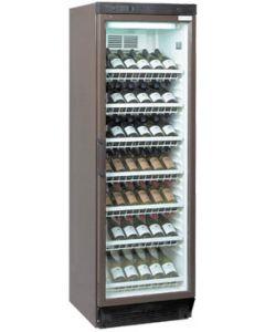 Tefcold Wine Chiller FS1380W Glass Door Merchandiser
