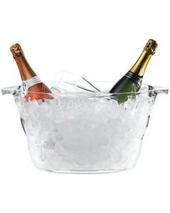 Acrylic Oval Nite Club Champagne Cooler