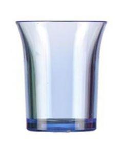 Blue Polystyrene Shot Glass 25ml