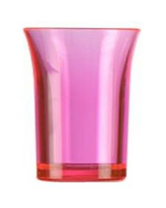 Red Polystyrene Shot Glass 25ml