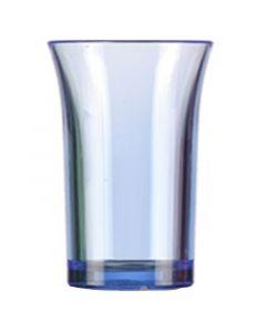 Blue Polystyrene Shot Glass 35ml