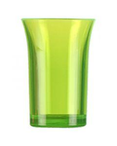 Green Polystyrene Shot Glass 35ml