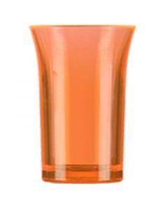 Orange Polystyrene Shot Glass 35ml