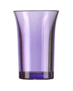 Purple Polystyrene Shot Glass 35ml