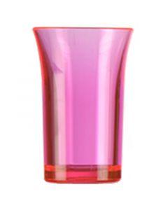 Red Polystyrene Shot Glass 35ml
