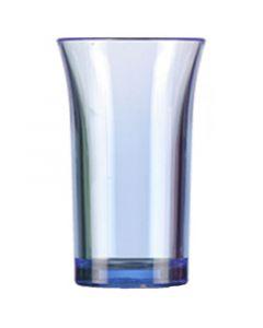 Blue Polystyrene Shot Glass 50ml