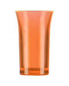 Orange Polystyrene Shot Glass 50ml