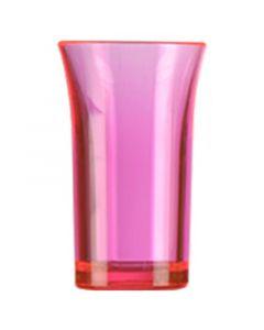 Red Polystyrene Shot Glass 50ml