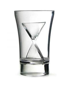 Clear Polystyrene Siptail Shot Glass 30ml