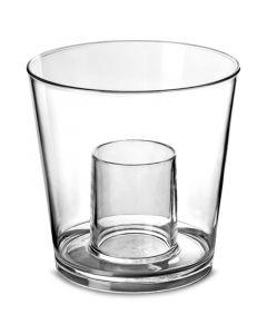 Polycarbonate Bomb Shot Glass 100 + 25ml CE