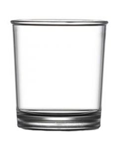 Clear Polystyrene Rocks Glass 6.8oz