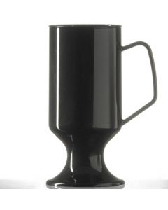 Elite Polycarbonate Coffee Cup 8oz Black