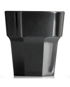 Elite Remedy Polycarbonate Rocks Glass 9oz Black