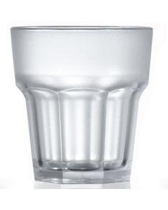 Elite Polycarbonate Remedy Rocks Glass 9oz Frosted