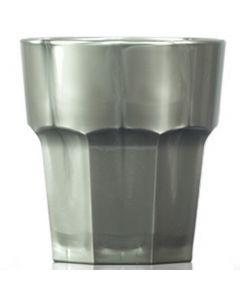 Elite Remedy Polycarbonate Rocks Glass 9oz Silver