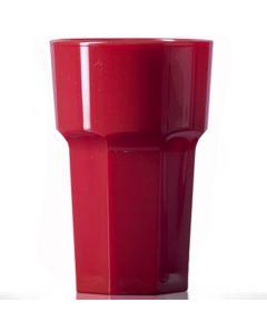 Elite Remedy Polycarbonate Hi-Ball Glass 10oz Red