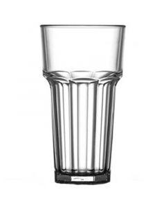 Remedy Polycarbonate Tall Glass 12oz CE @ 10oz