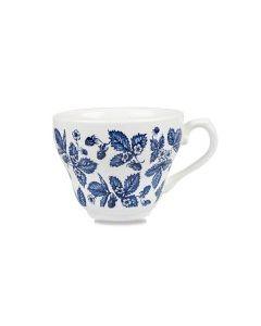 Blue Bramble Georgian Tea Cup 7oz