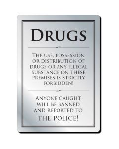 Drugs Policy Notice (No Frame)