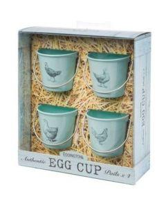 Blue Hen Egg Cup Pails