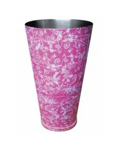 Pink Patterned Boston Can
