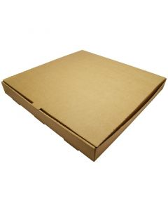 "Vegware Kraft Pizza Box 16"" - Compostable"