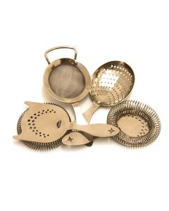 Bonzer Heritage Cocktail Strainers Silver
