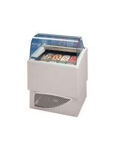 Tecfrigo Carisma Ice Cream Display 8x 4ltr Pans / 6x 5ltr Pans