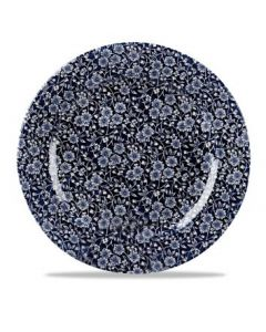 """Willow Victorian Calico Plate 12"""""""